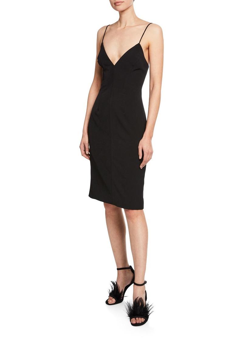 Milly Sandra Italian Cady Sleeveless Dress