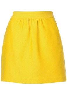 Milly short A-line skirt