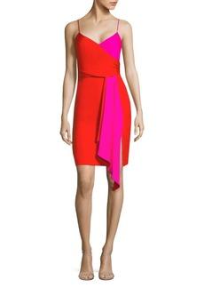 Milly Silk Wrap Dress