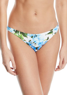 Milly St. Lucia Floral Hipster Bikini Swim Bottoms