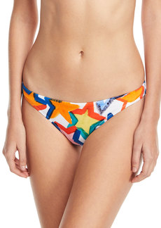 Milly St. Lucia Star-Print Swim Bikini Bottoms