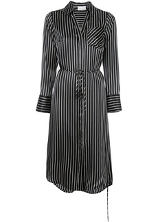 Milly striped shirt dress