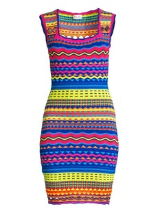 Milly Technicolor Mini Dress