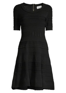 Milly Textured Tech Dress