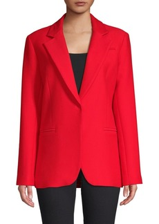 Milly Twill Notch Lapel Jacket