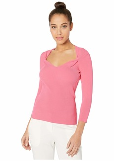 Milly Twist Front Neck Pullover