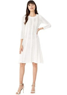 Milly Vertical Open Stitch Dress