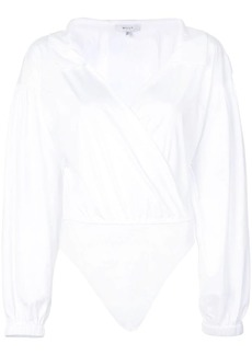 Milly wrap front shirt