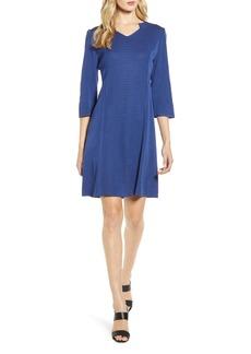 Ming Wang Multi Stitch Sweater Dress