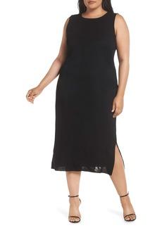 Ming Wang Sleeveless Dress (Plus Size)