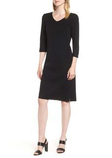 Ming Wang V-Neck Dress