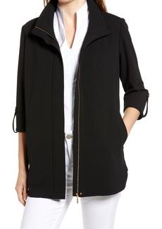 Ming Wang Zip Front Jacket
