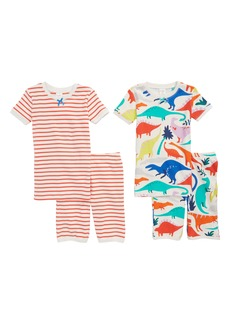 Mini Boden 2-Pack Fitted Two-Piece Pajamas (Little Girls & Big Girls)