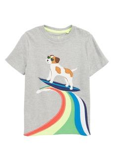 Mini Boden Action Appliqué T-Shirt (Toddler Boys, Little Boys & Big Boys)