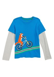Mini Boden Active Animals Layered T-Shirt (Toddler Boys, Little Boys & Big Boys)