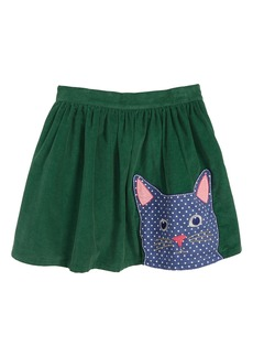 Mini Boden Animal Appliqué Skirt (Toddler Girls, Little Girls & Big Girls)
