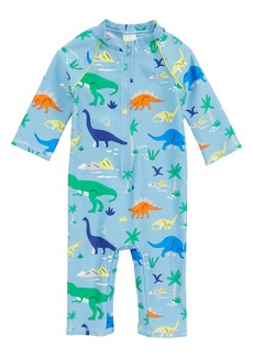 Mini Boden Animal Surf One-Piece Rashguard Swimsuit (Baby Boys)