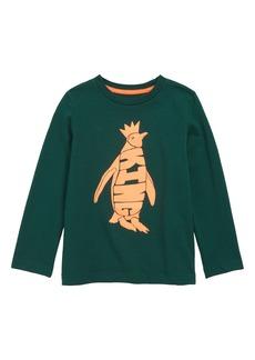 Mini Boden Animal Wordle T-Shirt (Toddler Boys, Little Boys & Big Boys)