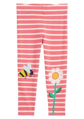 Mini Boden Appliqué Leggings (Toddler, Little Girl & Big Girl)