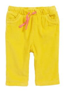 Mini Boden Appliqué Pocket Pants (Baby Girls & Toddler Girls)