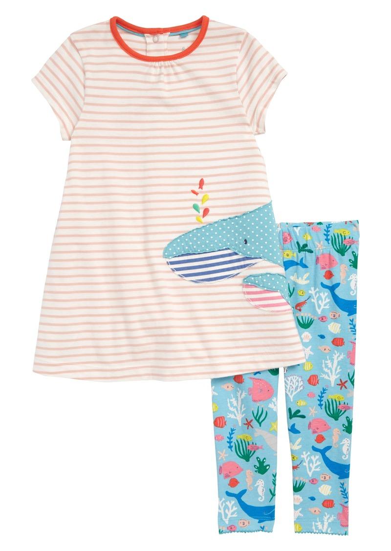 fa65d41e33a68 Appliqué T-Shirt Dress & Leggings Set (Baby Girls & Toddler Girls). Mini  Boden