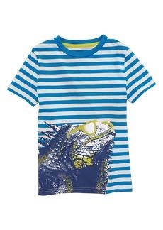 Mini Boden Arty Iguana T-Shirt (Little Boys & Big Boys)