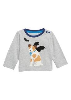 Mini Boden Batdog T-Shirt (Baby Boys & Toddler Boys)