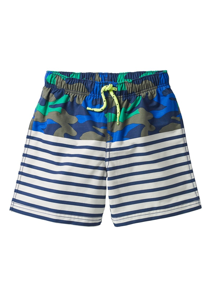 6c89612faa Mini Boden Bathers Mixed Print Swim Trunks (Toddler Boys, Little Boys & Big  Boys