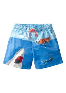 Mini Boden Bathers Shark Swim Trunks (Toddler Boys, Little Boys & Big Boys)