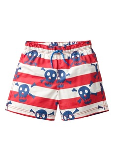 Mini Boden Bathers Skulls Swim Trunks (Toddler Boys, Little Boys & Big Boys)