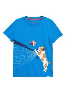 Mini Boden Beach Sports Appliqué T-Shirt (Toddler Boys, Little Boys & Big Boys)