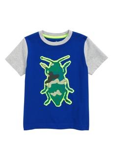 Mini Boden Beetle Patchwork T-Shirt (Toddler Boys, Little Boys & Big Boys)