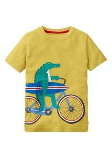 Mini Boden Bicycle Appliqué T-Shirt (Toddler Boys, Little Boys & Big Boys)