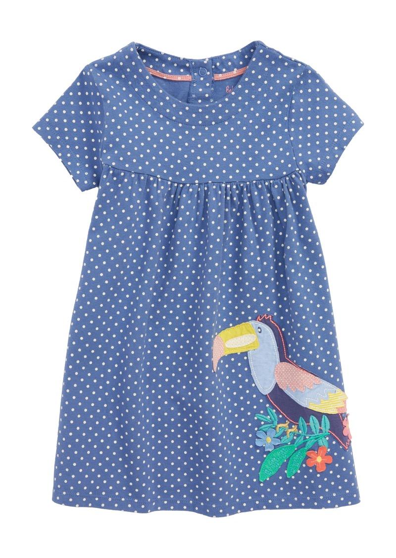 90cc9e0110d3 Mini Boden Mini Boden Big Appliqué Jersey Dress (Baby Girls)