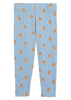 MIni Boden Boathouse Bears Leggings (Baby Girls & Toddler Girls)
