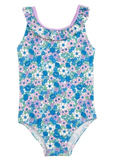 e83f96e3df Mini Boden Mini Boden Jungle Surf One-Piece Rashguard & Sun Hat Set ...