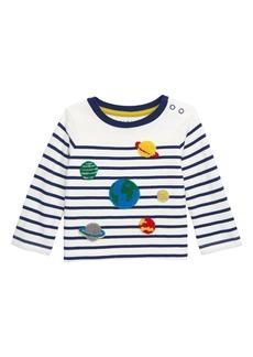 Mini Boden Breton Appliqué T-Shirt (Baby & Toddler Boys)