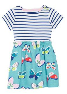 Mini Boden Bright Hotchpotch Jersey Dress (Toddler Girls, Little Girls & Big Girls)