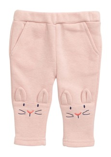 Mini Boden Bunny Knee Jersey Trousers (Baby)