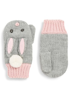 Mini Boden Bunny Mittens (Toddler Girls, Little Girls & Big Girls)
