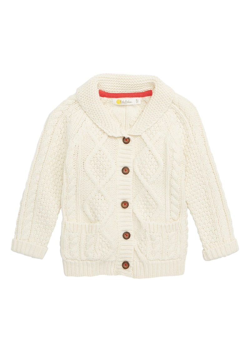 d17acfc66 Mini Boden Mini Boden Cable Knit Cardigan (Baby Boys   Toddler Boys ...