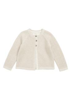 Mini Boden Cashmere Blend Cardigan (Baby)