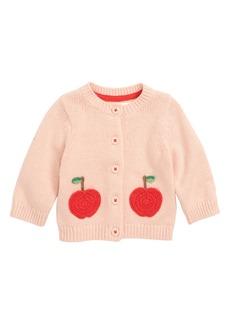 Mini Boden Characterful Crochet Knit Cardigan (Baby Girls & Toddler Girls)