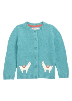 Mini Boden Characterful Crochet Knit Cardigan (Baby Girls & Toddler Girls)