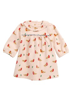 Mini Boden Christmas Jersey Dress (Baby)