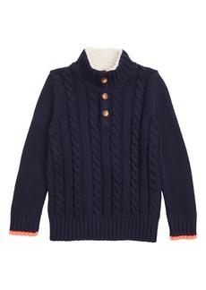 Mini Boden Chunky Knit Sweater (Toddler Boys, Little Boys & Big Boys)