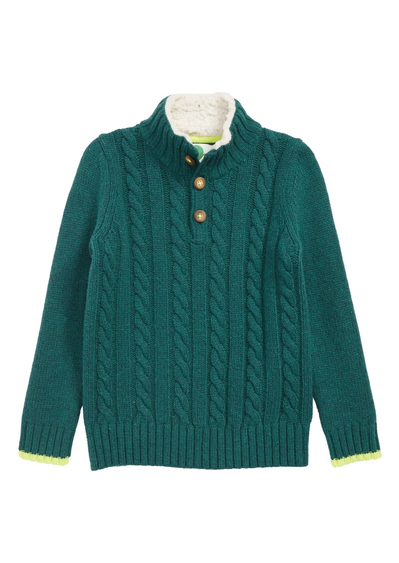 99d6b92e Mini Boden Chunky Knit Sweater (Toddler Boys, Little Boys & Big Boys)