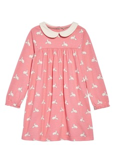 Mini Boden Collared Jersey Dress (Baby)