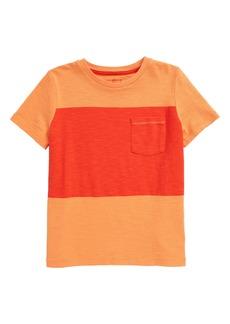 Mini Boden Color Block T-Shirt (Toddler, Little Boy & Big Boy)