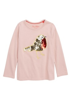 Mini Boden Color Change Sequin Tee (Toddler Girls, Little Girls & Big Girls)